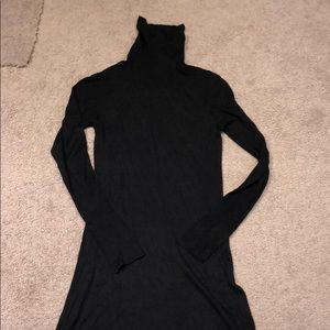 Turtle neck dress